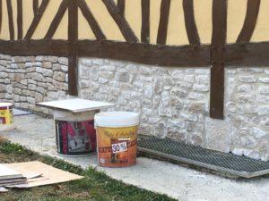 Read more about the article Pose de parements de pierre